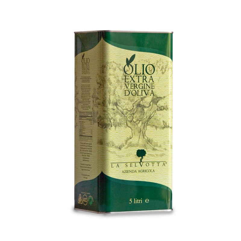 Extra Virgin Olive Oil blend Classico Can - La Selvotta - 5l