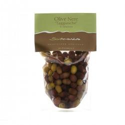 Black Taggiasche Olives in Brine - Sommariva - 300gr