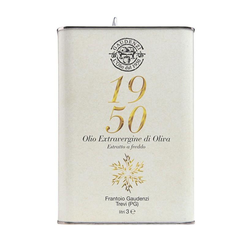 Extra Virgin Olive Oil 1950 can - Gaudenzi - 3l