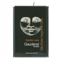 Extra Virgin Olive Oil Quinta Luna can - Gaudenzi - 3l