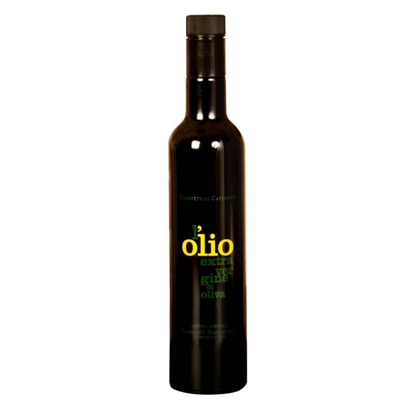 Extra Virgin Olive Oil 'L'olio' - Trappeto di Caprafico - 500ml