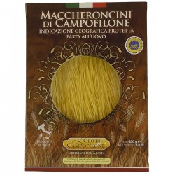 Egg Maccheroncini pasta Campofilone - Oro di Campofilone Carassai - 250gr