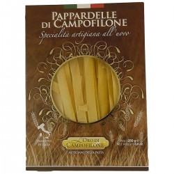 Egg Pappardelle pasta Campofilone - Oro di Campofilone Carassai - 250gr