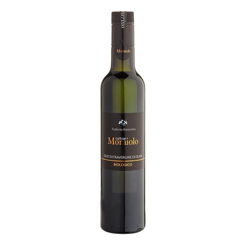 Extra Virgin Olive Oil cultivar Moraiolo - Fattoria Ramerino - 500ml