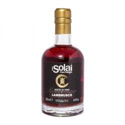 Wine Vinegar single varietal Lambrusco - I Solai - 250ml