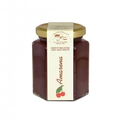 Sour Black Cherries jam - Apicoltura Cazzola - 200gr