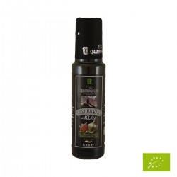 Extra Virgin Olive Oil Garlic Aromatized Organic - Quattrociocchi - 100ml