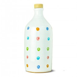 Extra Virgin Olive Oil Pois Ceramic Jar coratina - Muraglia - 500ml