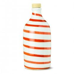 Extra Virgin Olive Oil Red Ceramic Jar - Muraglia - 500ml