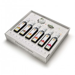 Six monocultivar with tasting glass - Cutrera - 6x100ml