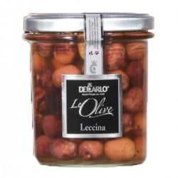 Leccina Olives - De Carlo - 330gr