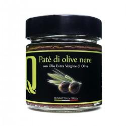 Black Olive Patè - Quattrociocchi - 190gr