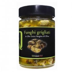 Grilled Mushrooms in extra virgin olive oil - Quattrociocchi - 320gr