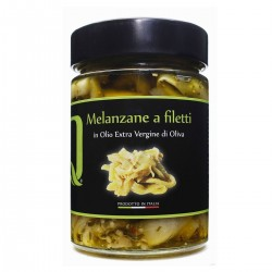 Eggplant fillets in extra virgin olive oil - Quattrociocchi - 320gr