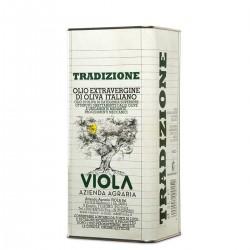 Extra Virgin Olive Oil Tradizione can - Viola - 5l