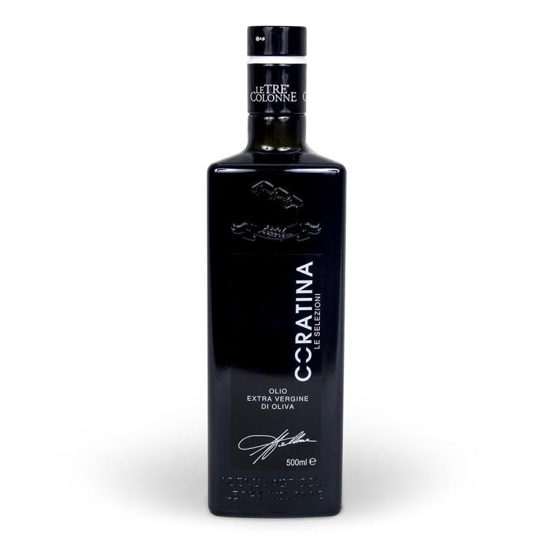 Extra Virgin Olive Oil monocultivar Coratina - Le Tre Colonne - 500ml