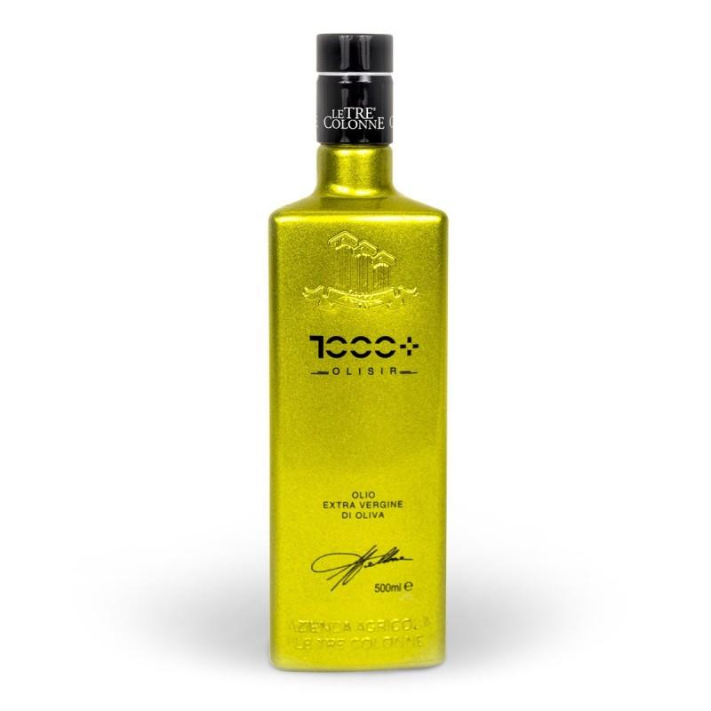 Extra Virgin Olive Oil Olisir 1000+ - Le Tre Colonne - 500ml
