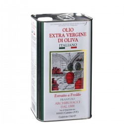 Extra Virgin Olive Oil can - Arturo Archibusacci - 3l