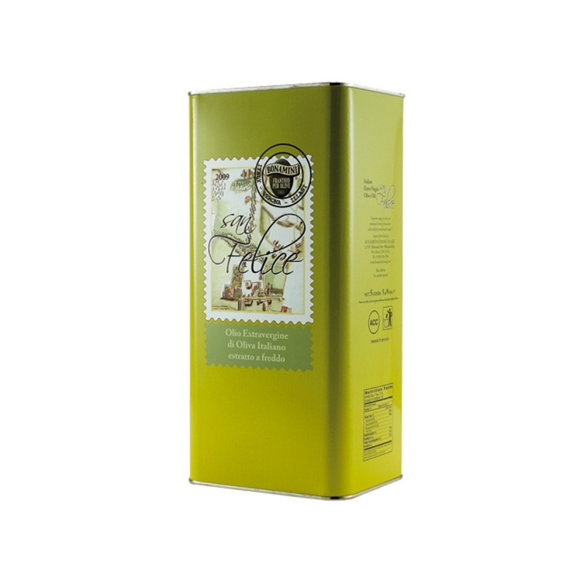 Extra Virgin Olive Oil San Felice can - Bonamini - 5l