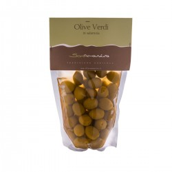 Green Olives in Brine - Sommariva - 300gr