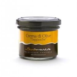 Cream Taggiasche olives - Sommariva - 100gr