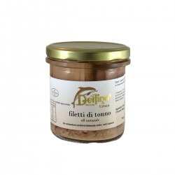 Natural tuna fillets - Delfino - 275gr