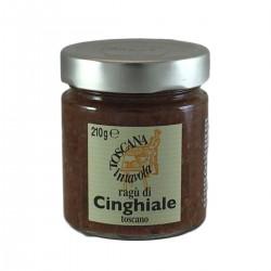 Tuscan wild boar meat sauce - Toscana in Tavola - 210gr