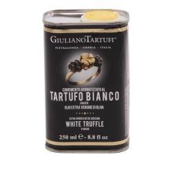 Extra Virgin Olive Oil dressing White Truffle flavour can - Giuliano Tartufi...