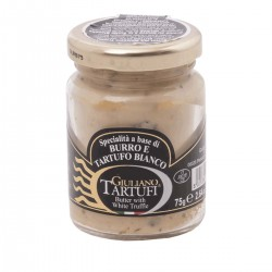Butter and White Truffle - Giuliano Tartufi - 75gr