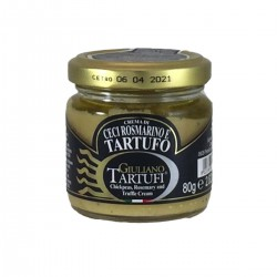 Chickpea Rosemary and Truffle cream - Giuliano Tartufi - 80gr