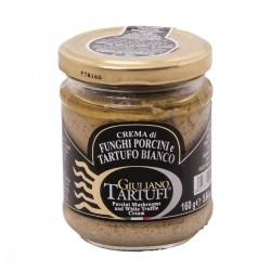 Porcini Mushrooms and White Truffle cream - Giuliano Tartufi - 160gr