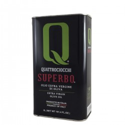 Extra Virgin Olive Oil Superbo Moraiolo can - Quattrociocchi - 3l