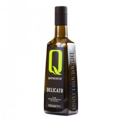 Extra Virgin Olive Oil Delicato Leccino - Quattrociocchi - 500ml