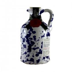 Extra Virgin Olive Oil Blue Ceramic Jar - Galantino - 100ml