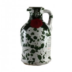 Extra Virgin Olive Oil Green Ceramic Jar - Galantino - 100ml