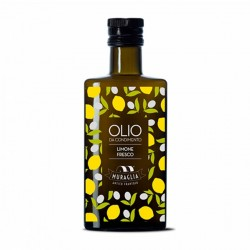 Lemon flavoured Extra Virgin Olive Oil - Muraglia - 200ml