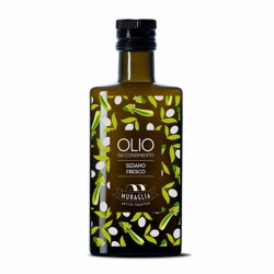 Celery flavoured Extra Virgin Olive Oil - Muraglia - 250ml
