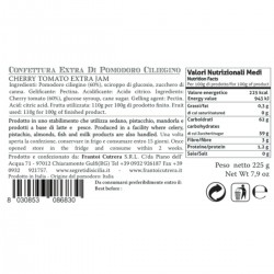 Cherry Tomato Extra Jam - Cutrera - 225gr