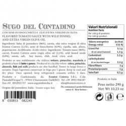 Tomato Farmer Sauce - Cutrera - 285gr