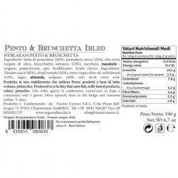Hyblaean Pesto and Bruschetta  - Cutrera - 190gr