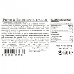 Italic Pesto and Bruschetta  - Cutrera - 190gr