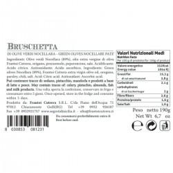Nocellara Green Olives Patè - Cutrera - 190gr