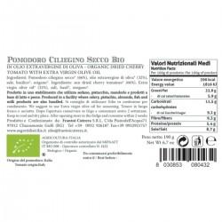 Dried Cherry Tomato organic - Cutrera - 190gr