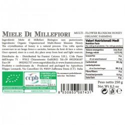 Multi Flower Honey - Cutrera - 250gr