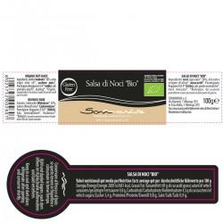 Walnut Sauce Bio - Sommariva - 100gr