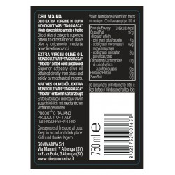Extra Virgin Olive Oil Cru Maina - Sommariva - 750ml
