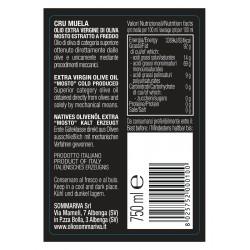 Extra Virgin Olive Oil Cru Muela - Sommariva - 750ml