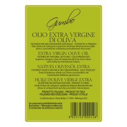 Extra Virgin Olive Oil Gumbo can - Sommariva - 5l