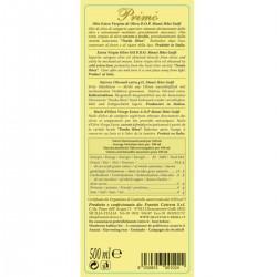 Extra Virgin Olive Oil Primo PDO Monti Iblei - Cutrera - 500ml