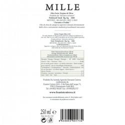 Extra Virgin Olive Oil Mille - Cutrera - 250ml